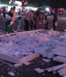 Styrofoam party